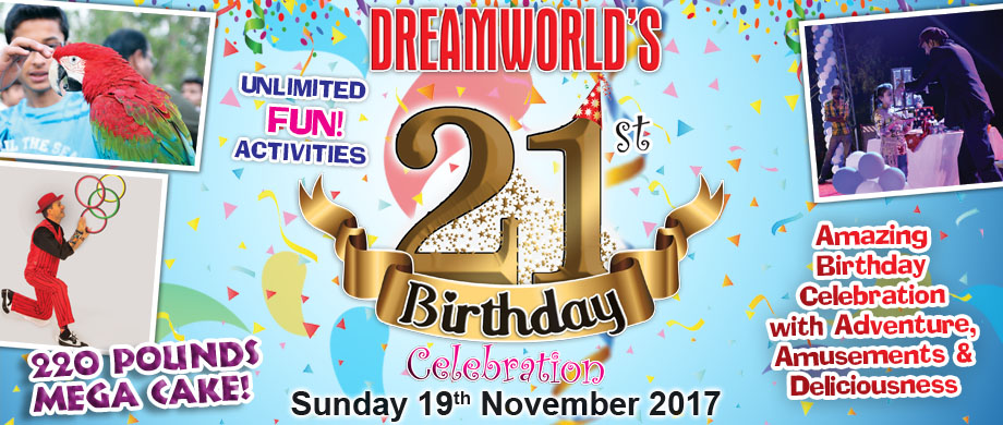 Dreamworld 21st Birthday