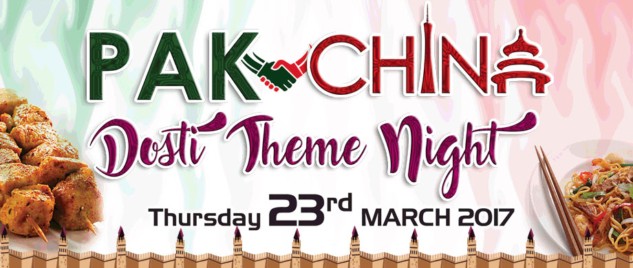 Pak-china Dosti Theme Night