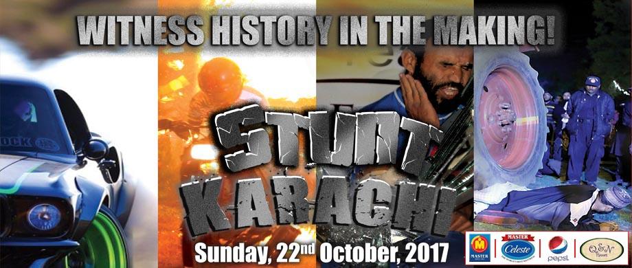 Stunt Karachi